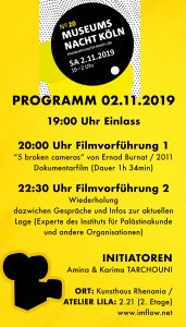 Museum Nacht Köln Filmvorführung @ Filmvorführung